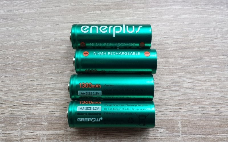 Donation of enerplus 1300 mAh AA Cells from Malte Schmidt (vialactea.de)